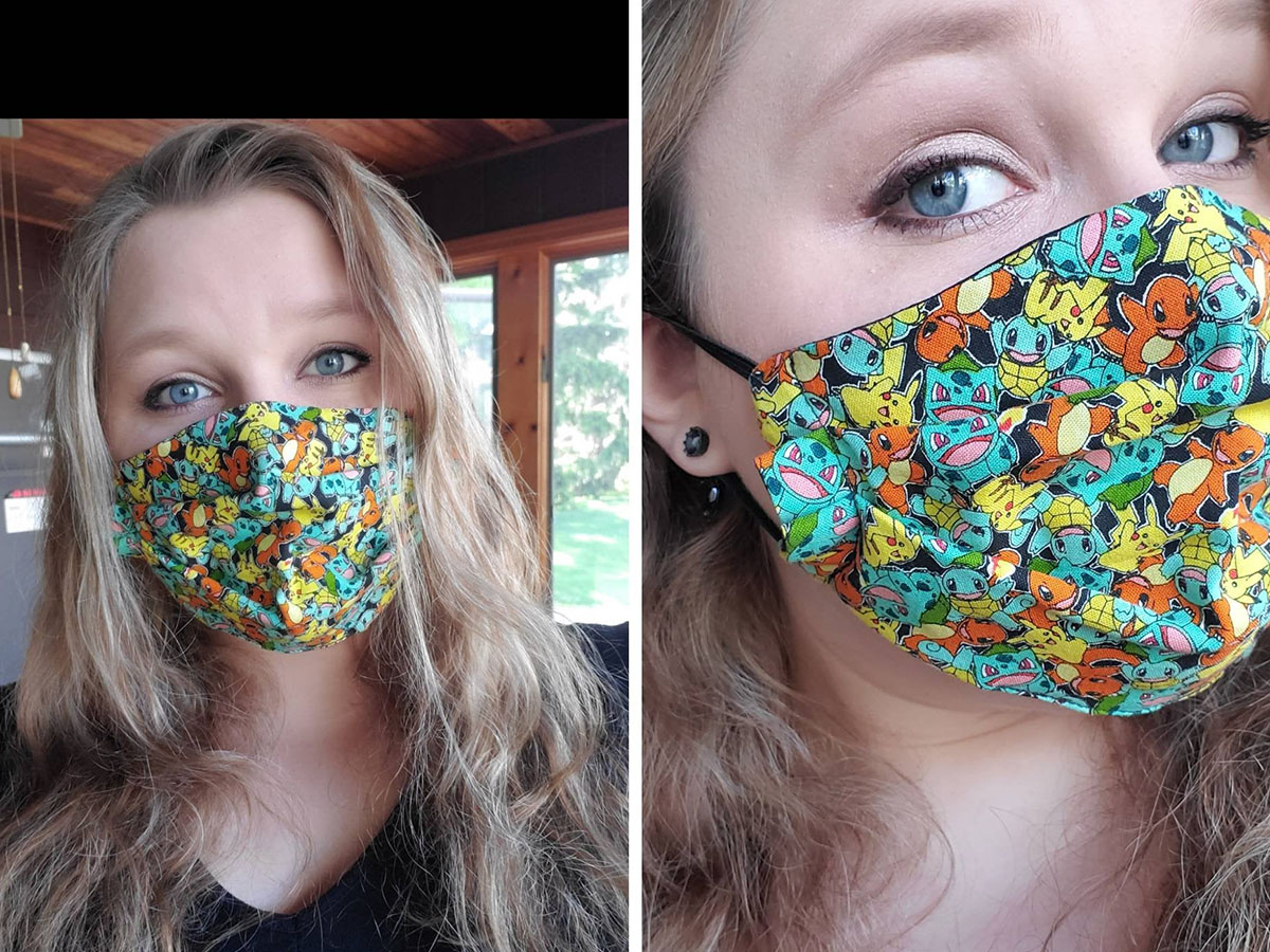 The perfect mask for Pokemon fans