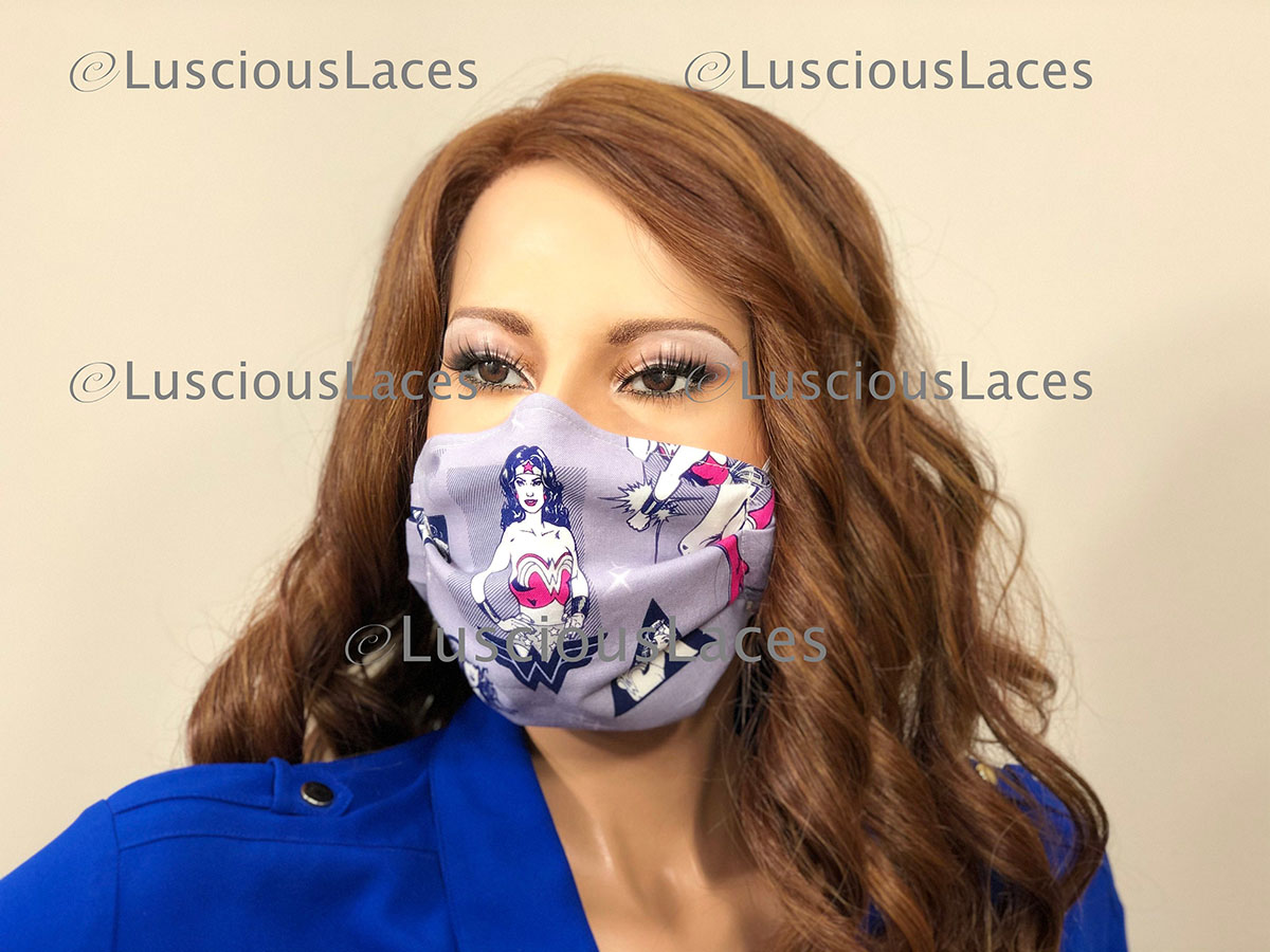 The perfect face covering for a wonderful woman