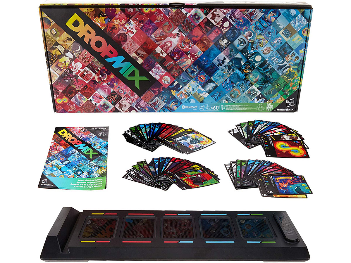This awesome music mixing card game