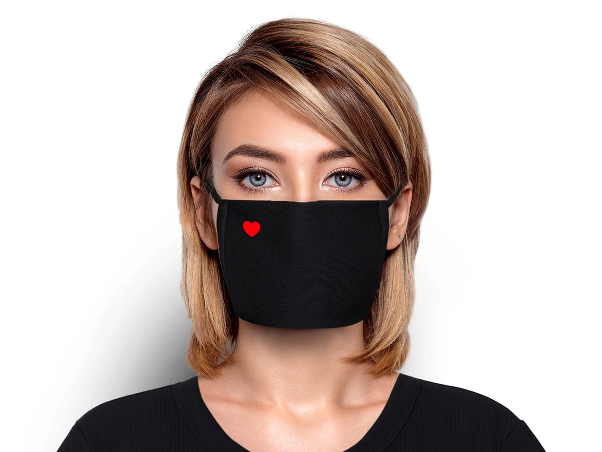 This simple mask with just a little bit of love❤️