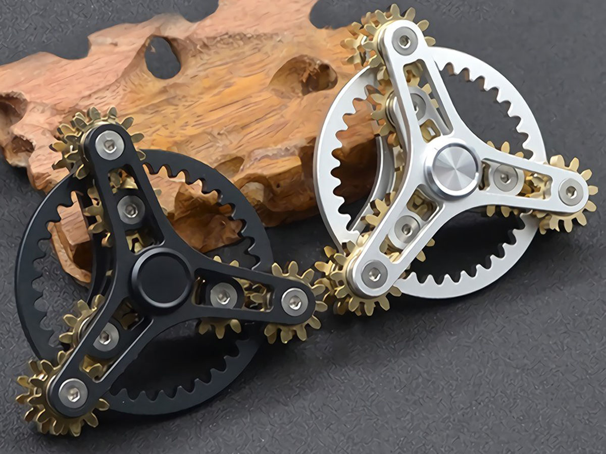 These beautifully complicated fidget spinners