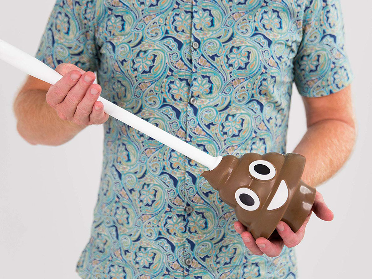This plunger that'll help fix your 💩 problem